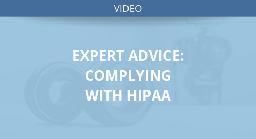 Expert Advice: Complying with HIPAA