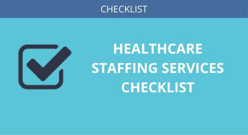 Healthcare Staffing Checklist