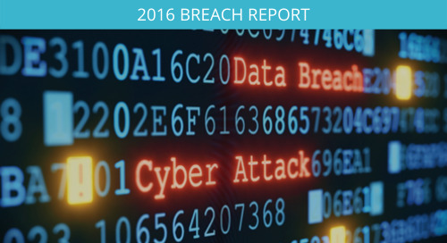 2016 Breach Report