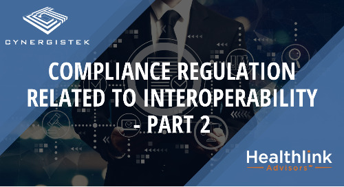 Compliance Regulation Related to Interoperability - Part Two