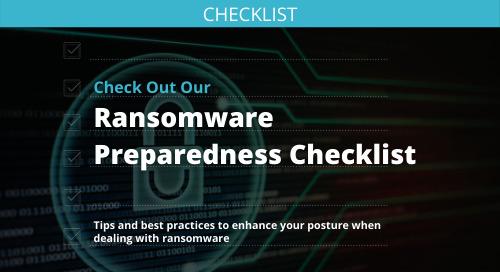 Ransomware Preparedness Checklist