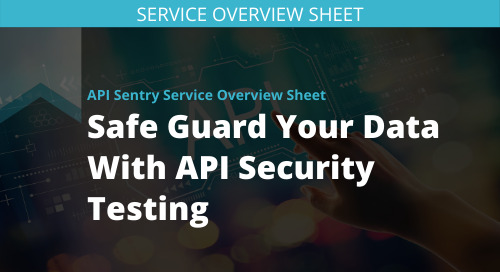 API Sentry Service Overview Sheet