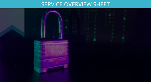 CCPA and GDPR Service Overview Sheet