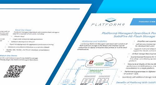 Platform9 Solidfire Solution Brief