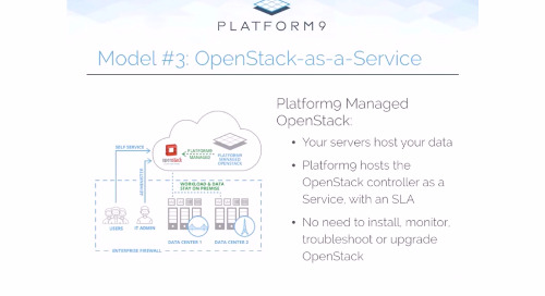 OpenStack Deployment Models - Introducing OpenStack-as-a-Service