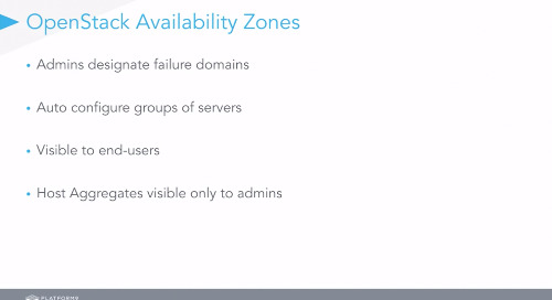 High Availability for Virtual Machines and Applications in OpenStack