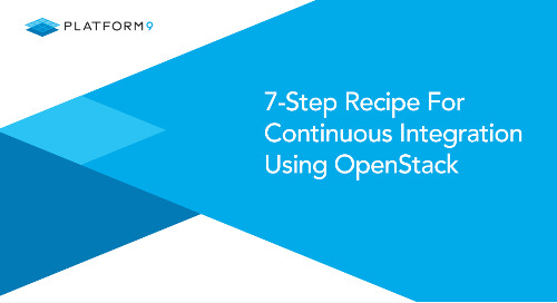 7-Step Recipe For Continuous Integration Using OpenStack