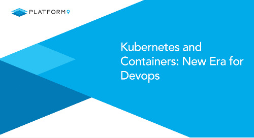 Kubernetes and Containers: New Era for Devops
