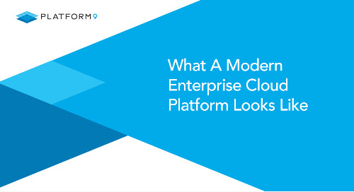 What A Modern Enterprise Cloud Platform Looks Like