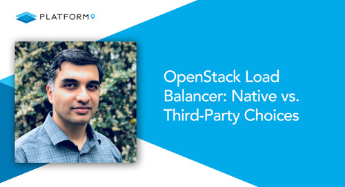 OpenStack Load Balancer: Native vs. Third-Party Choices