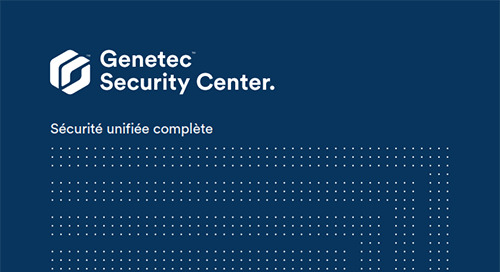 Plate-forme unifiée Security Center