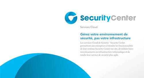 Security Center Cloud