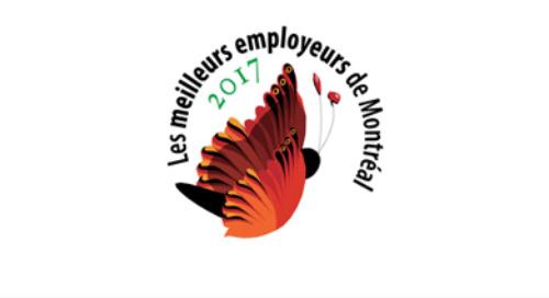 Meilleurs employeurs de Montréal – 2017