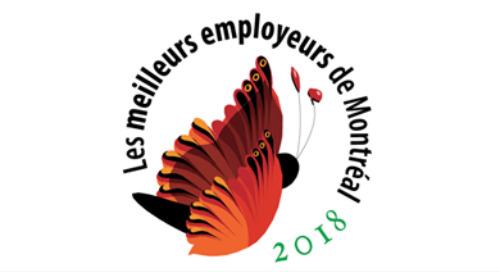 Meilleurs employeurs de Montréal – 2018
