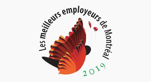 Meilleurs employeurs de Montréal – 2019