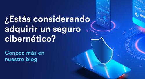 ¿Estás pensando en un seguro cibernético?
