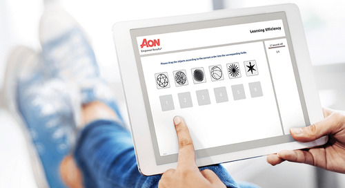 Aon's Assessment Solutions Launches New 'Combined Benchmark Report' which Matches a Candidate's Abilities Against Any Job