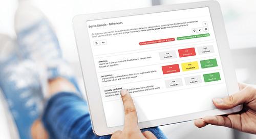 Stellenanforderungen definieren Infoflyer