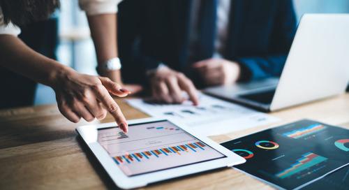 Vorteile von Online Assessment Flyer