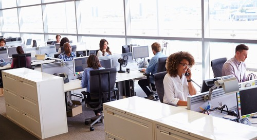 Behaviour in Open Plan Offices: Less E-Mail, More Face-to-Face Talking?