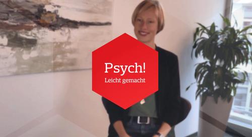 Psych! VidCast: Anna Wulf zum Thema Persönlichkeit