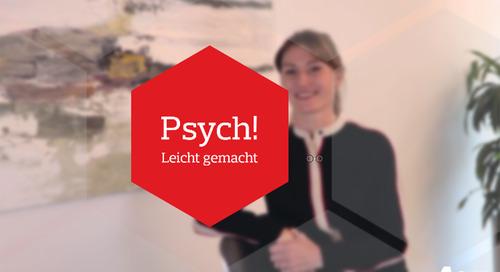 Psych! VidCast: Nele Winter zum Thema Motivation