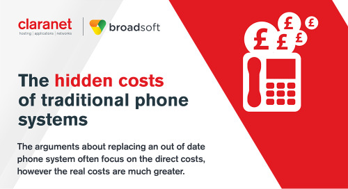 Claranet | The hidden costs of traditional phone systems