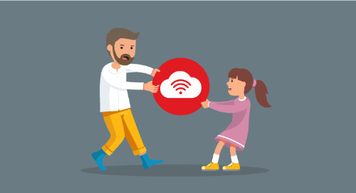 Two ways to separate work and home networks