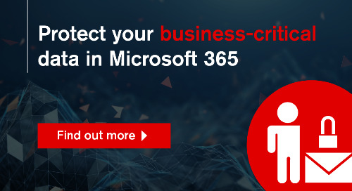 Keeping your Microsoft365 data safe with cloud backup