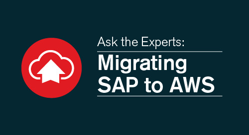 Ask the experts: Migrating SAP to AWS