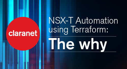 NSX-T Automation using Terraform: The why