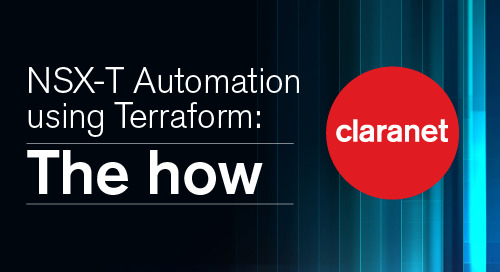 NSX-T Automation using Terraform: The how (VMC)