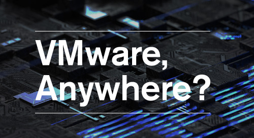 VMware Anywhere? VMware Cloud Director and the journey to Public Cloud
