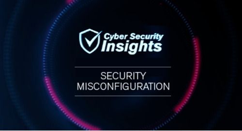OWASP Top 10: 6. Security Misconfiguration