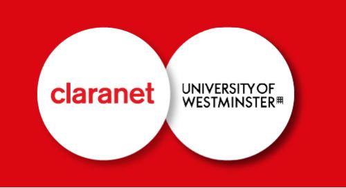 Westminster University Pioneers Programme