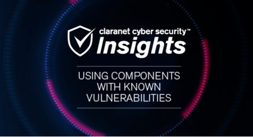 OWASP Top 10: 9. Using Components with Known Vulnerabilities