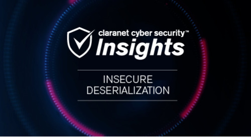 OWASP Top 10: 8. Insecure Deserialization
