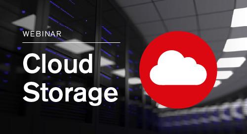 Webinar | Cloud Storage