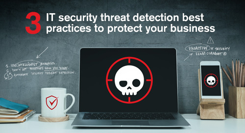Blog | 3 IT security threat detection best practices to protect your business