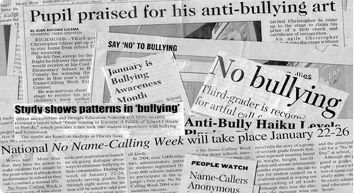 Bullying prevention and response resources