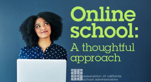 Online School: A Thoughtful Approach webinar