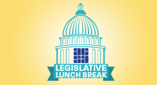 ACSA Legislative Lunch Break