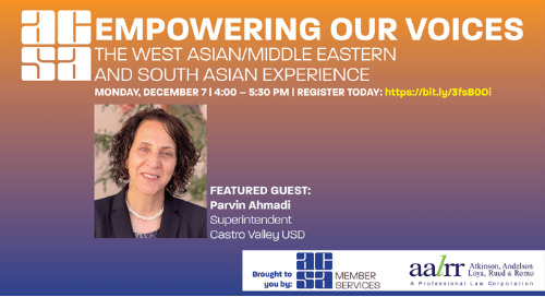 Empowering Our Voices: The South Asian/Middle Eastern Experience