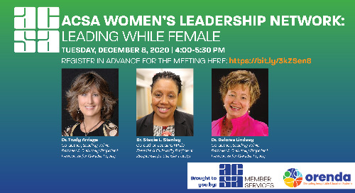 Leading While Female for Equity and Access