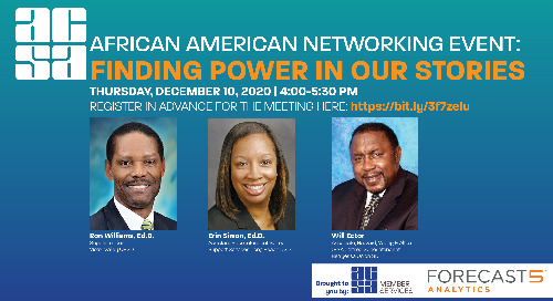 African American Networking Event: Finding Power in Our Stories