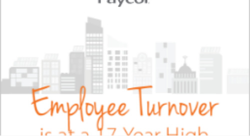 Employee Turnover is at a 17-Year High Infographic