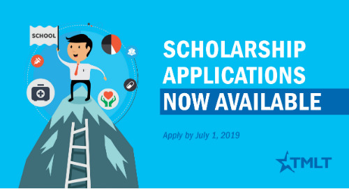 2019 TMLT scholarship applications now available