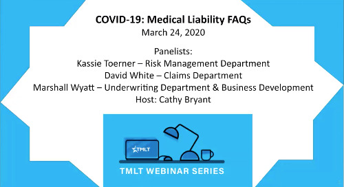 COVID-19: Medical liability FAQs