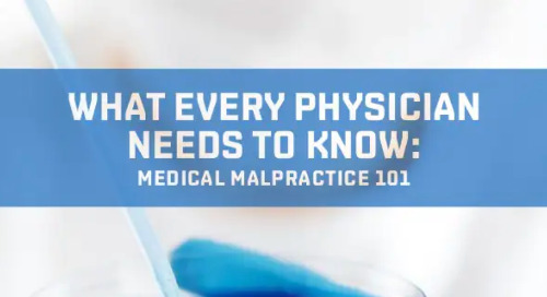 Medical Malpractice 101- Part One