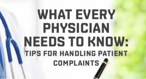 Tips for Handling Patient Complaints